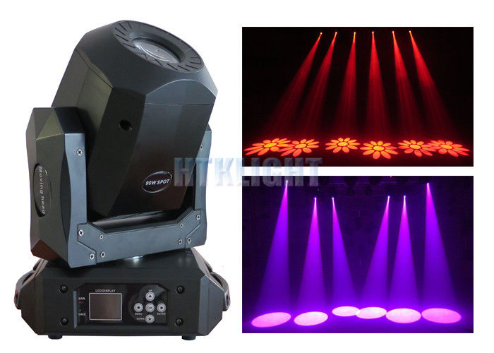 240V 90 W Nightclub LED Spot Moving Head Light / DJ Dance Club Lights