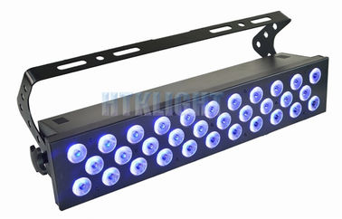 Chine 32 le joint de mur du watt RGBWA 5 In1 LED des PCs 10 guide optique de LED s'allume/de déplacement usine