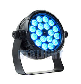 Chine RGBWA + 6 joint UV de mur d'In1 18 X 12Watt LED allume l'intense luminosité usine